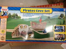 Thomas the tank engine and friends wooden pirates cove set very rare and new