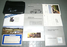 1995 Mercedes Benz S320 S420 S500 S Class Owners Manual SET