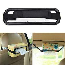 Car Sun Visor Tissue Paper Box Holder Auto Seat Back Accessories Clip Bracket SP