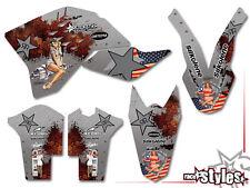 KTM SX-F EXC SMR 125 150 250 300 400 450 505 | 07-11 AMERICAN WAY DEKOR DECALS
