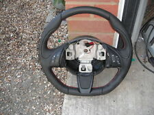 FIAT 500S OR ARBARTH LEATHER MULTIFUNCTION STEERING WHEEL 2008-16