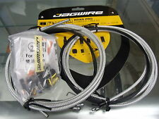 JAGWIRE ROAD PRO COMPLETE DERAILLEUR AND BRAKE CABLES STERLING SILVER KIT