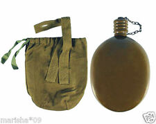 UNISED ORIGINAL SOVIET RUSSIAN ARMY FLASK MILITARY WATER VODKA CANTEEN SOLDIER