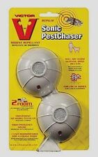 NEW 2Pk Victor UltraSonic PEST CHASER 400 Sq.ft. Rodent Pest Repellent M692S NIP