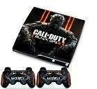 Duty for PlayStation 3 PS3 Slim Console Controller Custom Stickers Skins