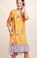 NEW Anthropologie Vanessa Virginia Rainforest Swing Dress Size Large