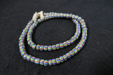 Alte Glasperlen V Handelsperlen Old Glass striped Trade beads Africa Afrozip
