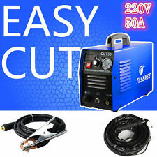 50A New 14mm Cut HF Start Plasma Cutter, Everything Includ all accessories & VAT