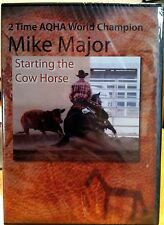 """Mike Major's """"Starting the Cow Horse"""" Training DVD"""