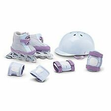 American Girl retired Skates and Safety set