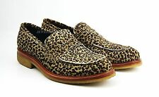 BRUNO MAGLI AMAZING LEOPARD HANDMADE SHOES LEATHER PONY HAIR ITALY NEW SZ 9 # 75