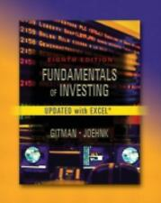 Fundamentals of Investing, Update Eighth Edition