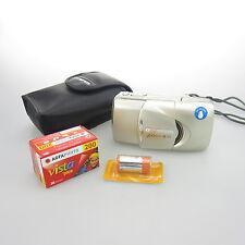 Olympus mju III 115 mit 35-115 Kamera / camera mit Batterie, Film und case