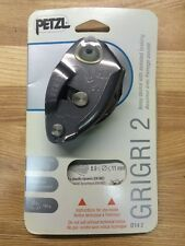 PETZL GRIGRI 2 Belay Device Gray Black