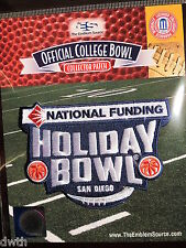 NCAA College Football Holiday Bowl 2016/17 Patch Minnesota, Washington State