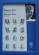 """SPECIAL """"BOOK"""" - ANCIENT GODS OF MOUNT OLYMPUS - ATHENS 2004 OLYMPIC GAMES PINS"""