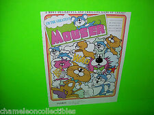 MOUSER By COSMOS 1982 VIDEO ARCADE GAME PROMO SALES FLYER