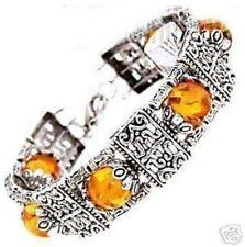 Jewellery fashion Tibet silver Amber Bracelet woman bracelet