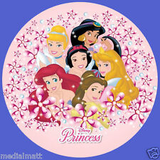 Non Personalised Disney Princess 37mm 35x Birthday Stickers Party Thank You for