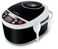 Electric Pressure Cooker + Steamer Vegetables Rice Kitchen 70% Faster Cooking