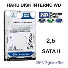 HARD DISK INTERNO 1TB 2,5 WESTERN DIGITAL SATA II 5400 RPM HDD 1000 GB NOTEBOOK