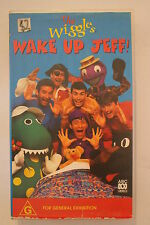 The Wiggles -Wake up Jeff-CLASSIC RARE VHS PAL  'AS NEW'