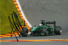 ANDRE LOTTERER CATERHAM F1 HAND SIGNED 6X4 PHOTO 11.