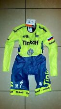 NEW VERY RARE Genuine Sportful TT Suit, size M, 2016 Team Tinkoff