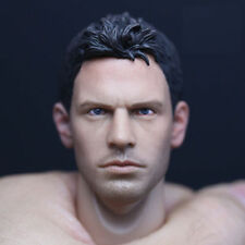 Custom Chris Redfield 1/6 Head Sculpt Resident Evil for Hot Toys Muscular Body