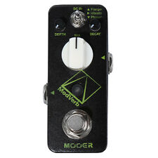 Mooer Modverb Digital Reverb Guitar Effect Pedal Stompbox Flanger Vibrato Phaser