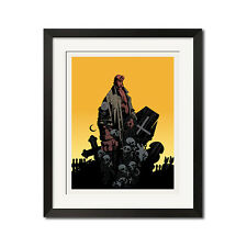Hellboy Urban Comic Art Poster Print 0684