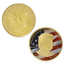 Golden Donald Trump Make Great President America Commemorative Challenge Coin