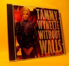 CD Tammy Wynette Without Walls 10TR 1994 Duets With Sting, Elton & more ... Pop