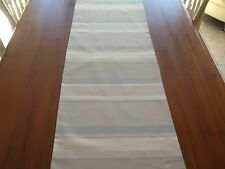 Laura Ashley Awning Stripe Table Runner. Fully Lined. New! BEAUTIFUL!