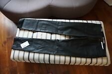 New J Brand Black Coated Pencil Leg Jeans Size 32 New with tags