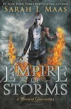 Empire of Storms (Throne of Glass) by Sarah J. Maas [Hardcover] (BRAND NEW)