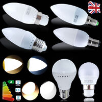 9x /6x 3W 5W 6W E14 E27 B15 B22 LED Globe Bulbs SMD Candle Bulb ES SES BC SBC/G4