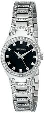 Bulova Women's 96L170 Crystal Bracelet Watch