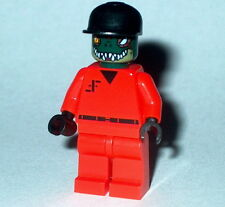"T.V. Lego Classic 80's ""V"" Visitors ""Male Alien Officer"" Custom Genuine Legos"