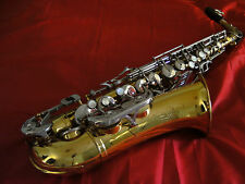 B + M CHAMPION ALTO SAXOPHONE IN GOOD CONDITION