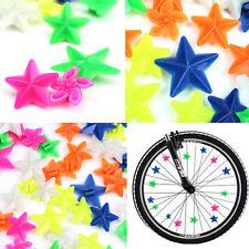 48X Etoile Fleur Perle Rayon Roue Velo Bicyclette Déco Clip Enfants Fille Garcon