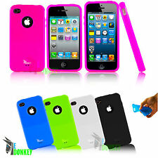 CUSTODIA CASE COVER EDONKEY PER APPLE IPHONE 5 5S TPU GEL FLESSIBILE SLIM