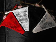 DIPTI G STRING THONG RED BLACK WHITE CREAM MEDIUM LARGE XLARGE FOR DIPTI BASQUE
