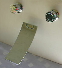 WALL MOUNT SINK WATERFALL FAUCET MATCH OUR TUB FAUCETS