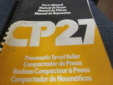 Dynapac Pneumatic Tyred Roller Parts Manual