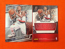 2016 Panini National VIP Gold Chrome Base DAMIAN LILLARD Blazers #6