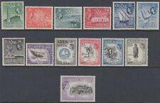 Aden 1953 ** Mi.62/74 Königin Queen Elizabeth II Wappen Crest