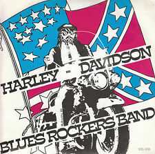 "7"" 45 TOURS BELGIQUE BLUES ROCKERS BAND ""Harley Davidson +1"" 80'S"
