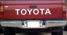 TOYOTA TAILGATE  Vinyl Decal Sticker Emblem Logo Graphic  WHITE 31""