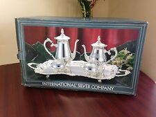 International Sterling Company Plated Silver Tea Set no. 9911 5025